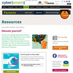 Educate yourself: Cybersmart