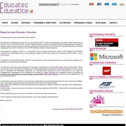 Educatec Educatice : 18/20 novembre 2015