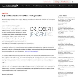Dr. Jensen Educates Consumers About SmartLipo in Utah