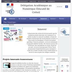 [Délégation Académique au Numérique Éducatif de Créteil] Innover