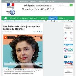Délégation Académique au Numérique Éducatif de Créteil - Les Pôlecasts de la journée des cadres du Bourget