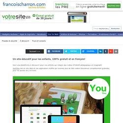Un site éducatif pour les enfants, 100% gratuit et en français! - FrancoisCharron.com