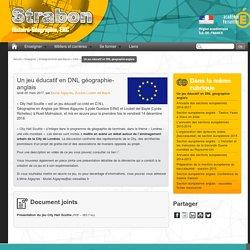 Un jeu éducatif en DNL géographie-anglais