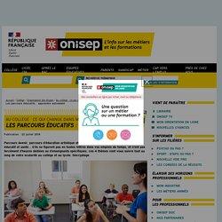 Les parcours éducatifs : apprendre autrement - Onisep