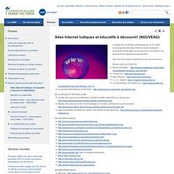 Sites Internet ludiques et éducatifs à découvrir! (NOUVEAU)