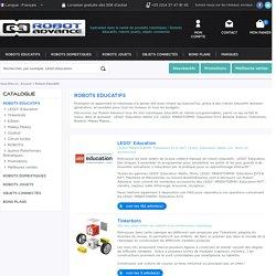 Robots éducatifs : Lego Education NXT & EV3, Robotis, Beebot…