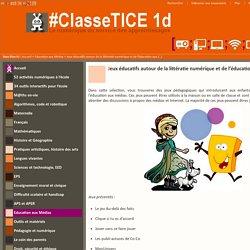 Jeux éducatifs autour de la littératie numérique et de l'éducation aux médias