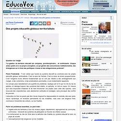 Des projets éducatifs globaux territorialisés