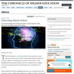 Educating Minds Online - Advice