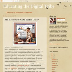 Are Interactive White Boards Dead?