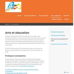 Arts et éducation – Alliance Culturelle de l'Ontario