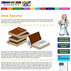 Education in Ancient Greece - Fun Facts
