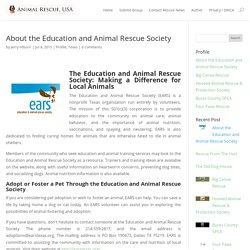 Education and Animal Rescue Society