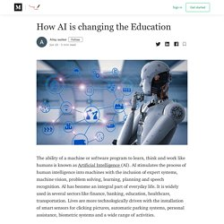 How AI is changing the Education - My Assignment Help Singapore - Medium