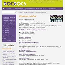 Education au cinéma