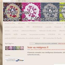 ID en vrac autour de l'éducation bienveillante: OCTOFUN