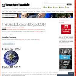 The Best Education Blogs of 2014