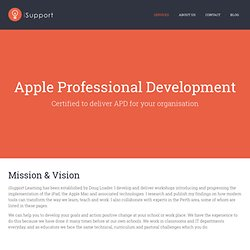 iSupport | Apple Education, Consultation and Professional Development