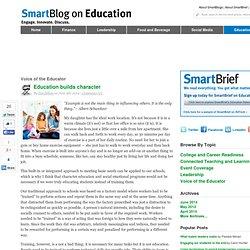 Education builds character SmartBlogs