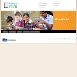iPads for Education | Case Studies | Royal Children's Hospital Education Institute
