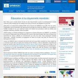 UNESCO - Citoyenneté mondiale