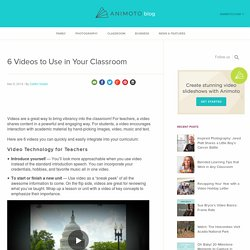 6 Best Education Videos to Make for Your Classroom