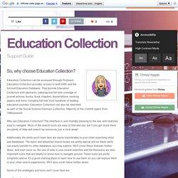 Education Collection (Christina)