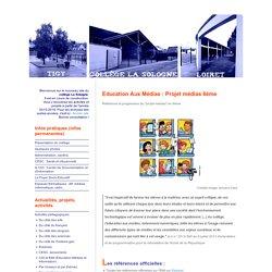 Education Aux Médias : Projet médias 6ème - Collège LA SOLOGNE de TIGY