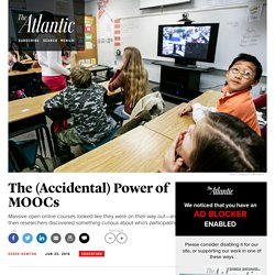 How MOOCs Could Reform Education Completely by Accident