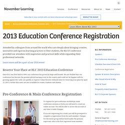 BLC Conference - Registration