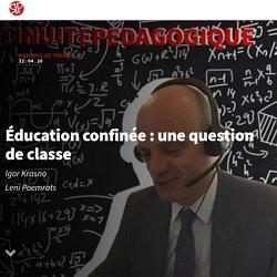 Éducation confinée : une question de classe