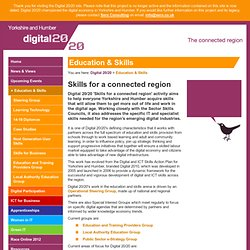 Education and Skills - skills for a connected region | Digital 20/20