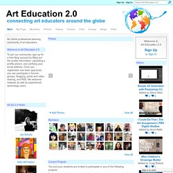 Art Education 2.0 - Using New Technology in Art Classrooms