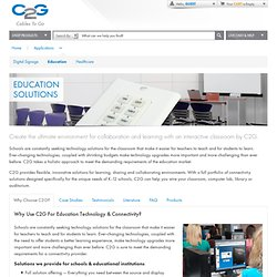 C2G - Education Applications - Interactive A/V Classrooms