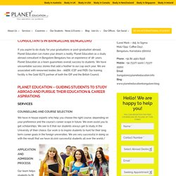 Australian Education Consultants In Bengaluru