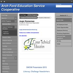 Arch Ford Education Service Cooperative - Angie Zimmerman