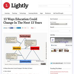 13 Ways Education Could Change In The Next 13 Years