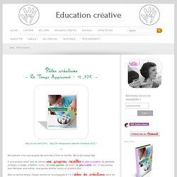 Education créative » Pâtes créatives