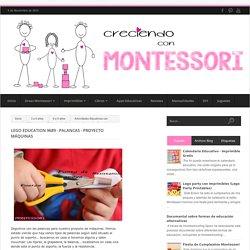 Lego Education 9689 - Palancas - Proyecto máquinas - Creciendo con Montessori