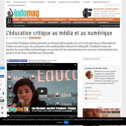 L'éducation critique au média et au numérique