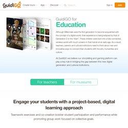 Education – Visites et jeux culturels pour scolaires et musées
