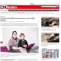 Education: Les parents déficients mentaux, une réalité taboue - News Vaud & Régions: Nord vaudois - Broye