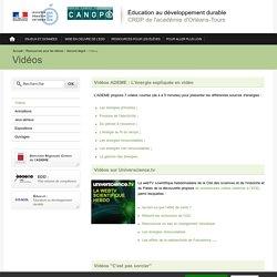Éducation au développement durable-Vidéos