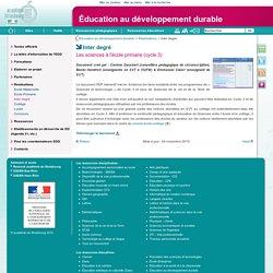 Inter degré - Éducation au développement durable