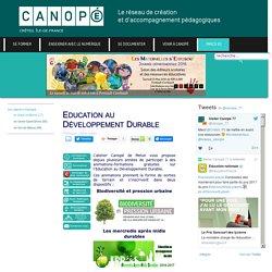 Canopé Créteil - Education au Développement Durable