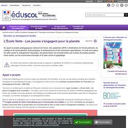 Éducation au développement durable - Appel à projets pour l'éducation au développement durable - EDD 2030