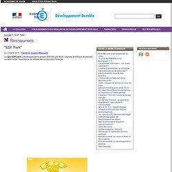 """""""EDF Park"""" - Education au Développement Durable"""