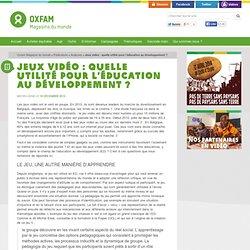 Jeux vidéo : quelle utilité pour l'éducation au développement ?