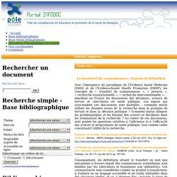 éducation santé bretagne - Infodoc - documentation
