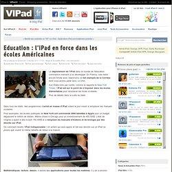 Education : l'iPad en force dans les écoles Américaines